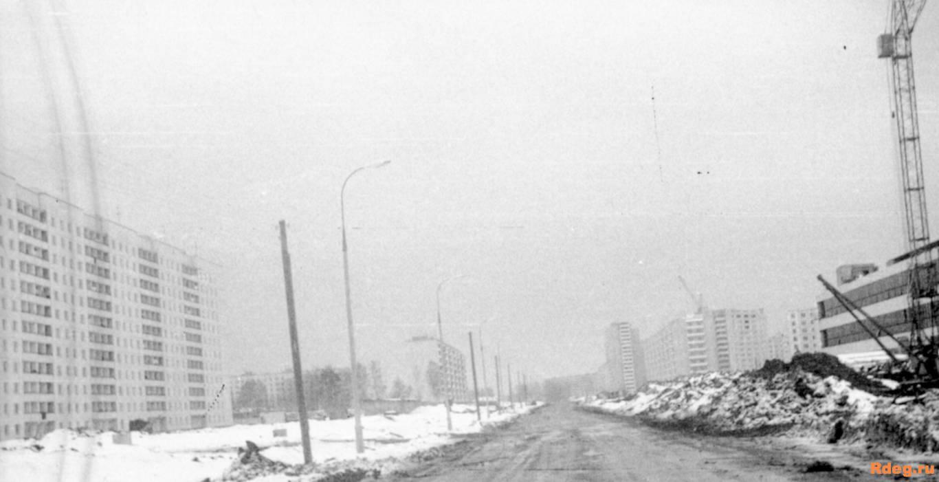 Северная часть Дубнинской улицы 1976 – 1977.jpg