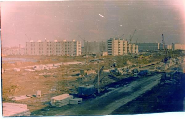 Строительство района «Восточное Дегунино» 1971.jpg