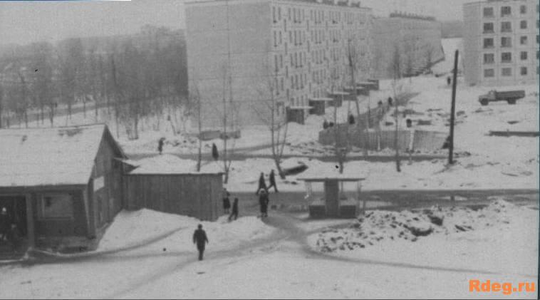 Вид из дома 39 по Бескудниковскому бульвару 1964г.jpg