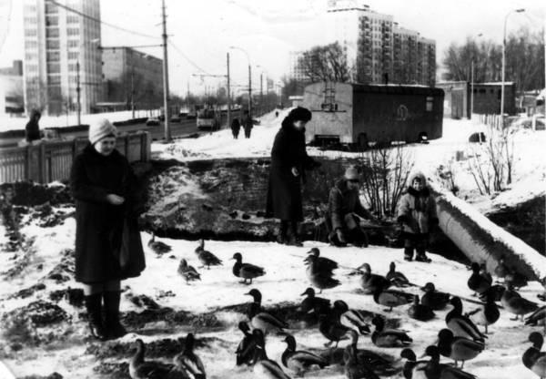 Дмитровское шоссе. Мост через р.Лихоборку около 7-го автобусного парка 1982-1983г.jpg