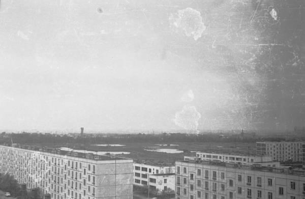 Вид с 9-го этажа в сторну Дубнинской ул 1969г.jpg